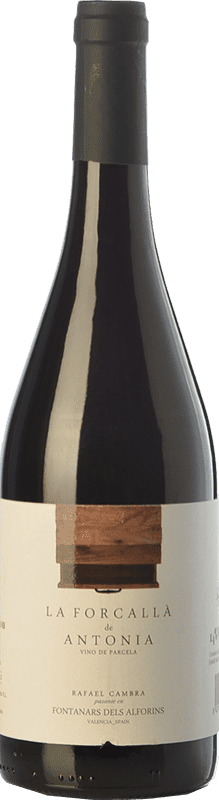 11,95 € Free Shipping | Red wine Rafael Cambra La Forcallà de Antonia Joven D.O. Valencia Valencian Community Spain Forcayat del Arco Bottle 75 cl