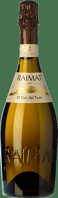 11,95 € | White sparkling Raimat El Cim del Turó Brut Nature D.O. Cava Catalonia Spain Pinot Black, Chardonnay Bottle 75 cl