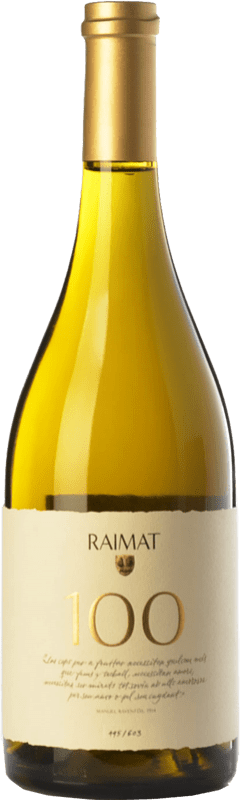 42,95 € | White wine Raimat 100 D.O. Costers del Segre Catalonia Spain Xarel·lo, Chardonnay Bottle 75 cl