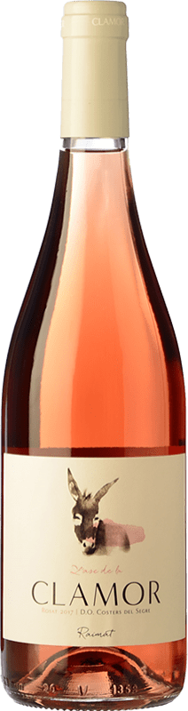 4,95 € Free Shipping | Rosé wine Raimat Clamor Joven D.O. Costers del Segre Catalonia Spain Merlot, Cabernet Sauvignon Bottle 75 cl