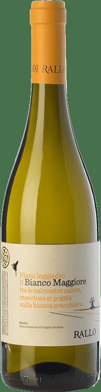 11,95 € Free Shipping   White wine Rallo Bianco Maggiore I.G.T. Terre Siciliane Sicily Italy Grillo Bottle 75 cl