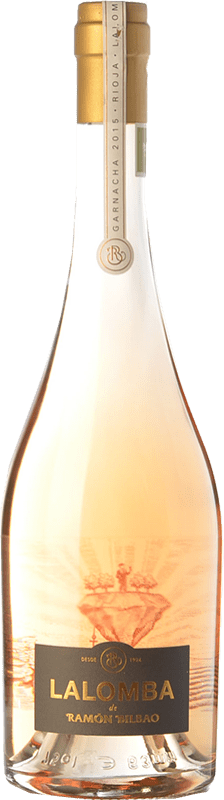 24,95 € Free Shipping | Rosé wine Ramón Bilbao Lalomba D.O.Ca. Rioja The Rioja Spain Grenache, Viura Bottle 75 cl