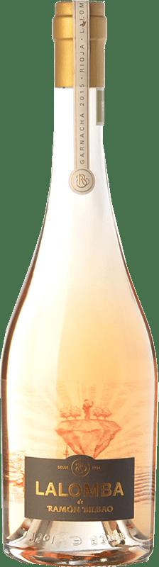 24,95 € Envío gratis | Vino rosado Ramón Bilbao Lalomba D.O.Ca. Rioja La Rioja España Garnacha, Viura Botella 75 cl