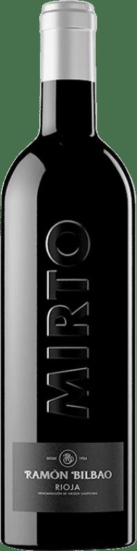 38,95 € Envoi gratuit | Vin rouge Ramón Bilbao Mirto Reserva D.O.Ca. Rioja La Rioja Espagne Tempranillo Bouteille 75 cl