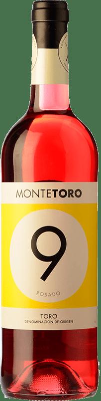 5,95 € Envío gratis | Vino rosado Ramón Ramos Monte Joven D.O. Toro Castilla y León España Garnacha, Tinta de Toro Botella 75 cl