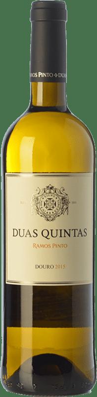 15,95 € 免费送货 | 白酒 Ramos Pinto Duas Quintas I.G. Douro 杜罗 葡萄牙 Rabigato, Viosinho, Arinto 瓶子 75 cl