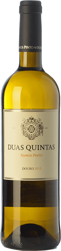 15,95 € Envoi gratuit | Vin blanc Ramos Pinto Duas Quintas I.G. Douro Douro Portugal Rabigato, Viosinho, Arinto Bouteille 75 cl