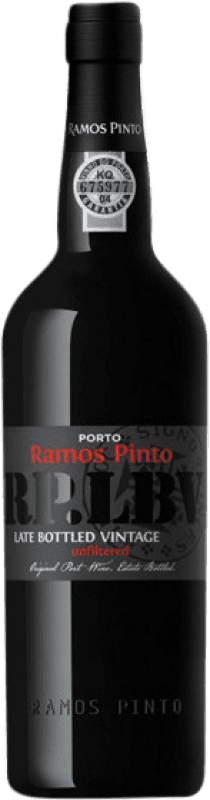 28,95 € | Fortified wine Ramos Pinto Late Bottled Vintage I.G. Porto Porto Portugal Touriga Nacional, Tinta Roriz, Tinta Barroca Bottle 75 cl