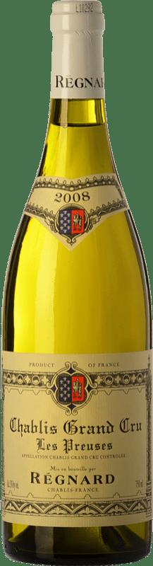 69,95 € | White wine Régnard Les Preuses 2008 A.O.C. Chablis Grand Cru Burgundy France Chardonnay Bottle 75 cl
