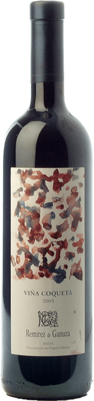 38,95 € | Red wine Remírez de Ganuza Viña Coqueta Reserva 2008 D.O.Ca. Rioja The Rioja Spain Tempranillo, Graciano, Viura, Malvasía Bottle 75 cl