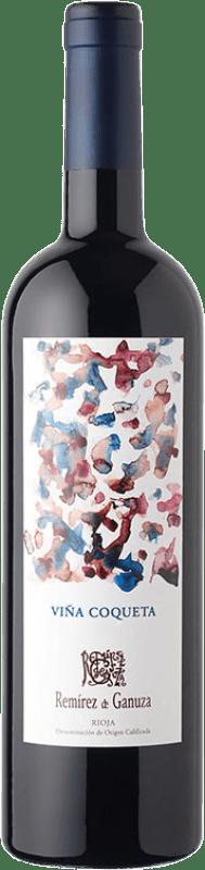 38,95 € Free Shipping | Red wine Remírez de Ganuza Viña Coqueta Reserva D.O.Ca. Rioja The Rioja Spain Tempranillo, Graciano, Viura, Malvasía Bottle 75 cl