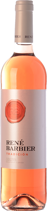 5,95 € Free Shipping | Rosé wine René Barbier Tradición Joven D.O. Catalunya Catalonia Spain Tempranillo, Merlot Bottle 75 cl