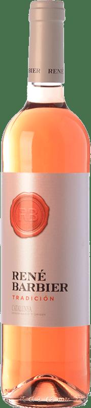 5,95 € Envío gratis | Vino rosado René Barbier Tradición Joven D.O. Catalunya Cataluña España Tempranillo, Merlot Botella 75 cl