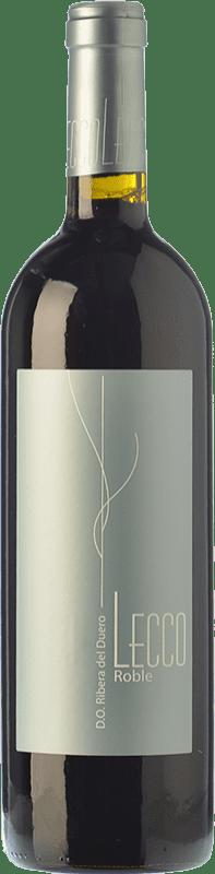 11,95 € Envoi gratuit | Vin rouge Resalte Lecco Roble D.O. Ribera del Duero Castille et Leon Espagne Tempranillo Bouteille 75 cl
