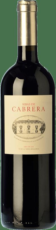 68,95 € Free Shipping | Red wine Ribas Cabrera Crianza I.G.P. Vi de la Terra de Mallorca Balearic Islands Spain Syrah, Cabernet Sauvignon, Mantonegro Bottle 75 cl