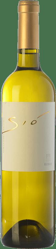 21,95 € Free Shipping | White wine Ribas Sió Blanc Crianza I.G.P. Vi de la Terra de Mallorca Balearic Islands Spain Chenin White, Premsal Bottle 75 cl