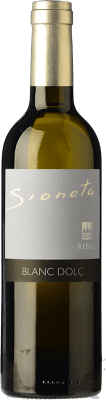 23,95 € Envío gratis | Vino dulce Ribas Sioneta I.G.P. Vi de la Terra de Mallorca Islas Baleares España Moscatel Grano Menudo Media Botella 50 cl