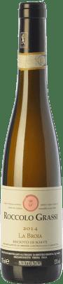 28,95 € Free Shipping | Sweet wine Roccolo Grassi La Broia D.O.C.G. Recioto di Soave Veneto Italy Garganega Half Bottle 37 cl