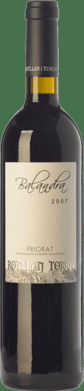 18,95 € Free Shipping | Red wine Rotllan Torra Balandra Joven D.O.Ca. Priorat Catalonia Spain Grenache, Cabernet Sauvignon, Carignan Bottle 75 cl