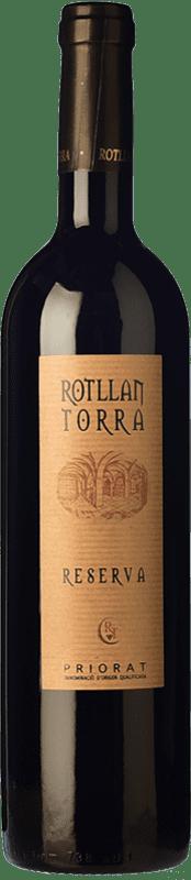 9,95 € 免费送货 | 红酒 Rotllan Torra Reserva D.O.Ca. Priorat 加泰罗尼亚 西班牙 Grenache, Cabernet Sauvignon, Carignan 瓶子 75 cl