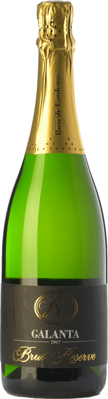 13,95 € | White sparkling Ruiz de Cardenas Galanta Riserva Brut Reserva D.O.C.G. Oltrepò Pavese Metodo Classico Lombardia Italy Pinot Black, Chardonnay Bottle 75 cl