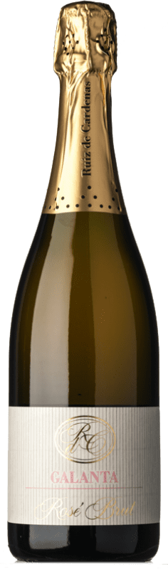 22,95 € | Rosé sparkling Ruiz de Cardenas Galanta Rosé Brut Italy Pinot Black, Chardonnay Bottle 75 cl