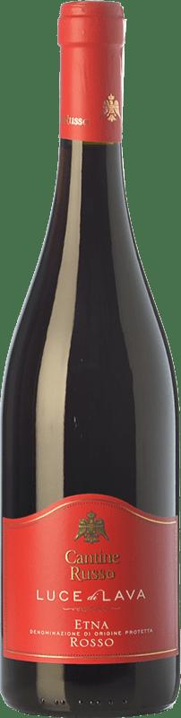 16,95 € | Red wine Russo Rosso Luce di Lava D.O.C. Etna Sicily Italy Nerello Mascalese, Nerello Cappuccio Bottle 75 cl