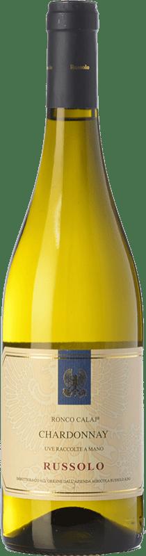 12,95 € Free Shipping | White wine Russolo Pinot Grigio Ronco Calaj I.G.T. Friuli-Venezia Giulia Friuli-Venezia Giulia Italy Pinot Grey Bottle 75 cl