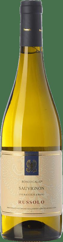 12,95 € Free Shipping | White wine Russolo Ronco Calaj I.G.T. Friuli-Venezia Giulia Friuli-Venezia Giulia Italy Sauvignon Bottle 75 cl