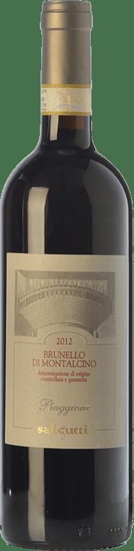 48,95 € | Red wine Salicutti Piaggione D.O.C.G. Brunello di Montalcino Tuscany Italy Sangiovese Bottle 75 cl