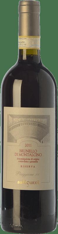 93,95 € | Red wine Salicutti Riserva Reserva D.O.C.G. Brunello di Montalcino Tuscany Italy Sangiovese Bottle 75 cl