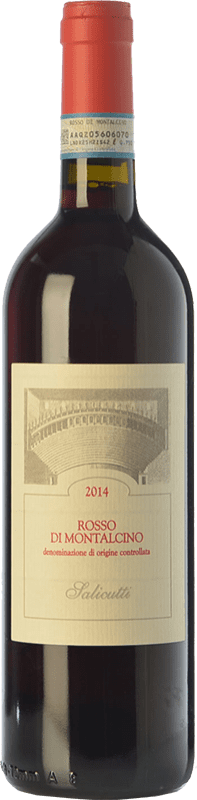 19,95 € | Red wine Salicutti D.O.C. Rosso di Montalcino Tuscany Italy Sangiovese Bottle 75 cl