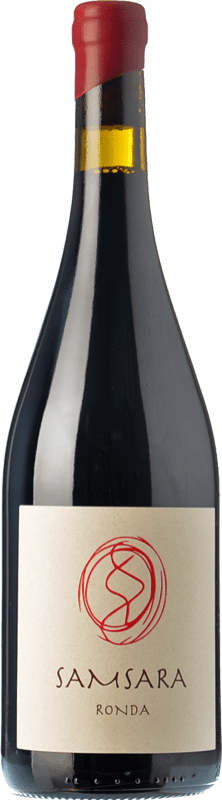 39,95 € | Red wine Samsara Ronda Crianza D.O. Sierras de Málaga Andalusia Spain Petit Verdot Bottle 75 cl