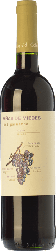 4,95 € | Red wine San Alejandro Viñas de Miedes Joven D.O. Calatayud Aragon Spain Grenache Bottle 75 cl