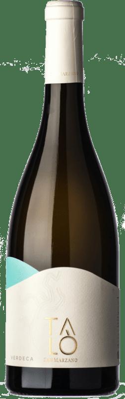 10,95 € Free Shipping | White wine San Marzano Talò I.G.T. Puglia Puglia Italy Verdeca Bottle 75 cl