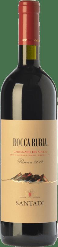 21,95 € 免费送货 | 红酒 Santadi Riserva Rocca Rubia Reserva D.O.C. Carignano del Sulcis 撒丁岛 意大利 Carignan 瓶子 75 cl