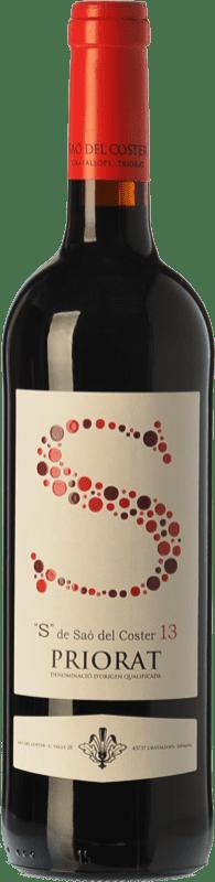 15,95 € | Red wine Saó del Coster S Crianza D.O.Ca. Priorat Catalonia Spain Grenache, Carignan Bottle 75 cl