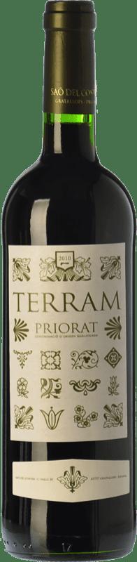 31,95 € | Red wine Saó del Coster Terram Reserva D.O.Ca. Priorat Catalonia Spain Syrah, Grenache, Cabernet Sauvignon, Carignan Bottle 75 cl