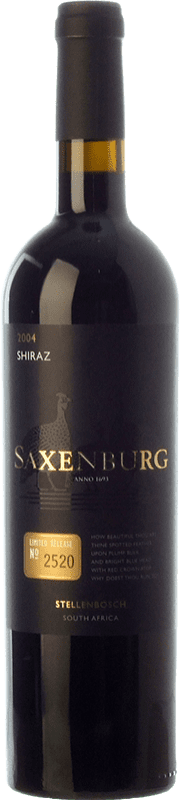 47,95 € Free Shipping | Red wine Saxenburg Edición Limitada Shiraz Crianza I.G. Stellenbosch Stellenbosch South Africa Syrah Bottle 75 cl