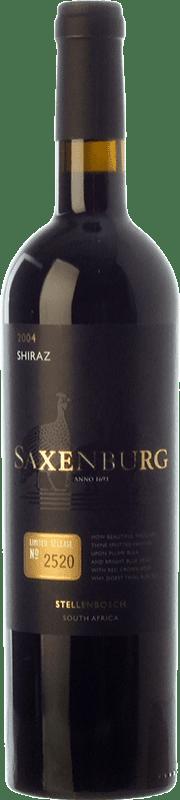 47,95 € Envío gratis | Vino tinto Saxenburg Edición Limitada Shiraz Crianza I.G. Stellenbosch Stellenbosch Sudáfrica Syrah Botella 75 cl