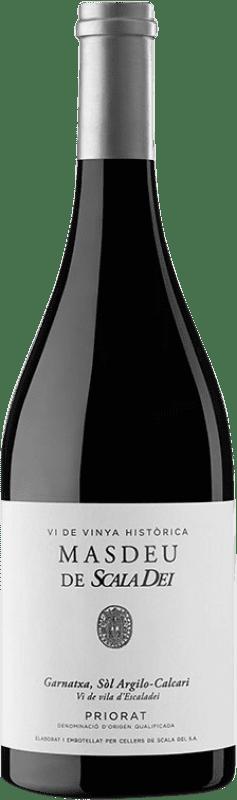 79,95 € Envío gratis | Vino tinto Scala Dei Masdeu Crianza D.O.Ca. Priorat Cataluña España Garnacha Botella 75 cl