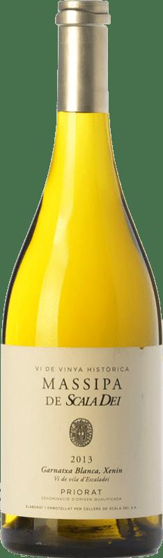 33,95 € Envío gratis | Vino blanco Scala Dei Massipa Crianza D.O.Ca. Priorat Cataluña España Garnacha Blanca, Chenin Blanco Botella 75 cl