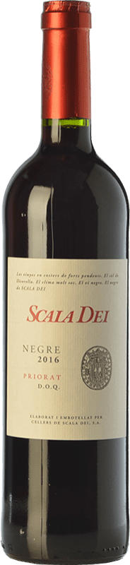 15,95 € 免费送货 | 红酒 Scala Dei Negre Joven D.O.Ca. Priorat 加泰罗尼亚 西班牙 Syrah, Grenache, Cabernet Sauvignon 瓶子 75 cl