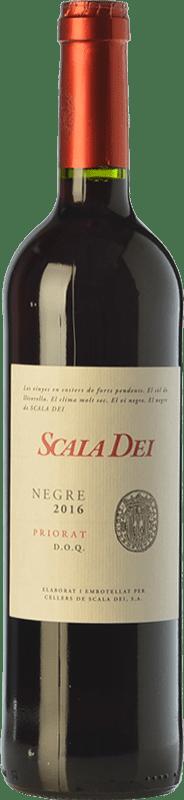 15,95 € Envío gratis | Vino tinto Scala Dei Negre Joven D.O.Ca. Priorat Cataluña España Syrah, Garnacha, Cabernet Sauvignon Botella 75 cl