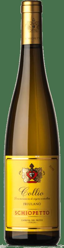 21,95 € Free Shipping | White wine Schiopetto D.O.C. Collio Goriziano-Collio Friuli-Venezia Giulia Italy Friulano Bottle 75 cl