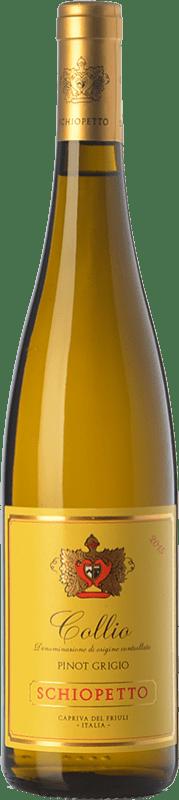 21,95 € Free Shipping | White wine Schiopetto Pinot Grigio D.O.C. Collio Goriziano-Collio Friuli-Venezia Giulia Italy Pinot Grey Bottle 75 cl