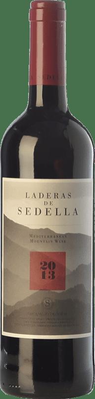 14,95 € Envío gratis | Vino tinto Sedella Laderas Crianza D.O. Sierras de Málaga Andalucía España Garnacha, Romé, Moscatel Botella Mágnum 1,5 L