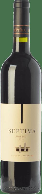 9,95 € | Red wine Séptima Joven I.G. Mendoza Mendoza Argentina Malbec Bottle 75 cl