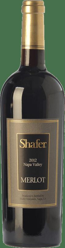 85,95 € Free Shipping | Red wine Shafer Merlot Crianza I.G. Napa Valley Napa Valley United States Merlot, Cabernet Sauvignon, Cabernet Franc Bottle 75 cl