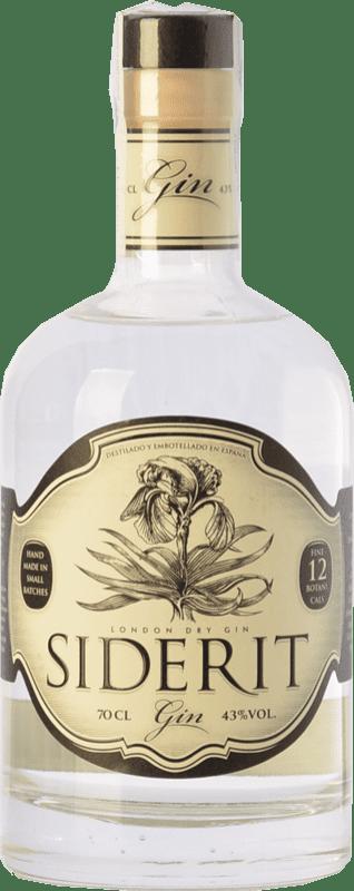 34,95 € | Gin Siderit Dry Gin Spain Bottle 70 cl